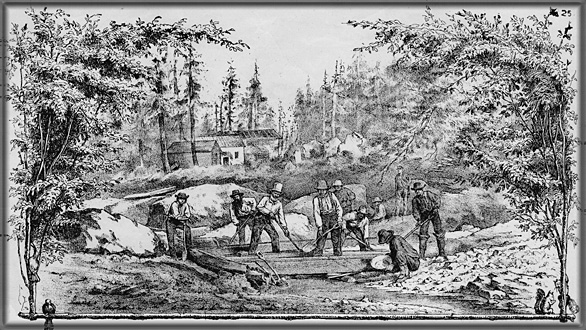 gold rush miners pictures. Return to Gold Rush Images